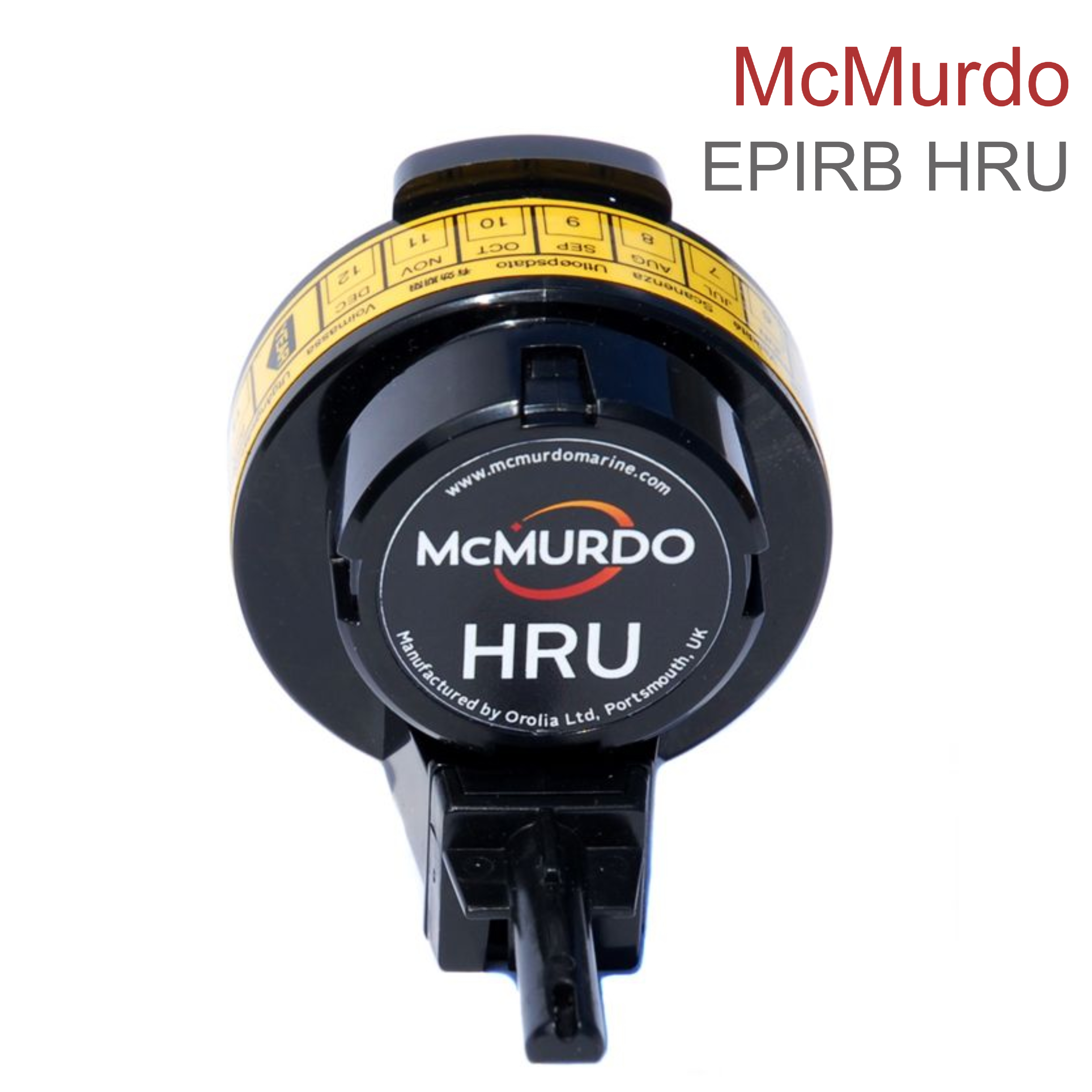 McMurdo EPIRB Hydrostatic Release Unit | SOLAS & IMO Complies | Compact & Float Free