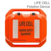 Life Cell LF5 Trailer Boat Emergency Floatation Device | 2-4 People Marine Safety & Equipment Storage | Orange