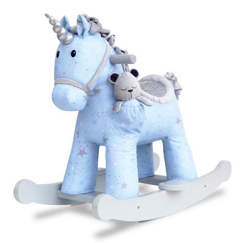 Little Bird Told Me Celeste & Fae Rocking Unicorn 9m+   Ride On   With Soft Fabric Thumbnail 2