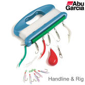 Abu Garcia Fishing Handline & Rig | Harp Line Winder | Complete Hooks-Line-Feathers
