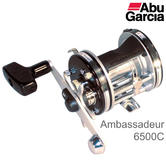 Abu Garcia Ambassadeur 6500C Power Handle Multiplier Fishing Reel | 6-pin | 1122600