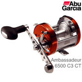 Abu Garcia Ambassadeur Classic 6500 C3 CT Mag Multiplier Fishing Reel | 1130033