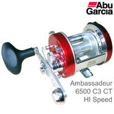 Abu Garcia Ambassadeur Classic 6500 C3 CT Mag HI Speed Multiplier Fishing Reel  | 1129943
