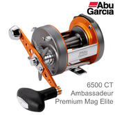 Abu Garcia Ambassadeur 6500 CT Premium Mag Elite Multiplier Fishing Reel | 1130038