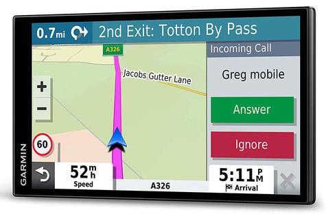 Garmin DriveSmart 65 LMT-D GPS SatNav | Full Europe Lifetime Map Updates + Digital Traffic Thumbnail 4