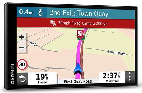 Garmin DriveSmart 65 LMT-D GPS SatNav | Full Europe Lifetime Map Updates + Digital Traffic Thumbnail 5