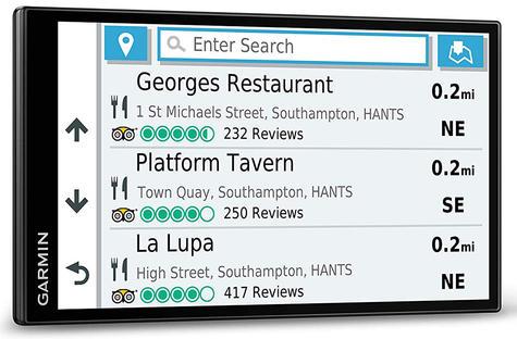 Garmin DriveSmart 65 LMT-D GPS SatNav | Full Europe Lifetime Map Updates + Digital Traffic Thumbnail 6