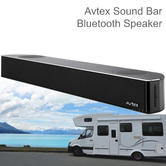 Avtex SB195BT TV Sound Bar/ Bluetooth Speaker System - 12V/24V | For Caravan/ Motorhome TVs