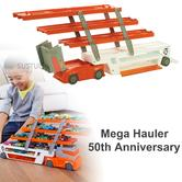 Hot Wheels Mega Hauler 50th Anniversary | Toy Car Vehicle Transporter / Storage