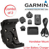 Garmin Bike Handlebar Mount+Lithium-Ion Battery Charger | For Montana 600-610-650-650t