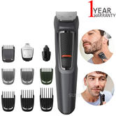 Philips MG3747 Series 3000 10 in 1 Multi Grooming Kit | Beard, Hair & Nose Trimmer