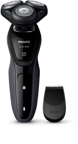 Philips S5270/06 Series 5000 Waterproof Men's Electric Shaver | Precision Trimmer Thumbnail 2