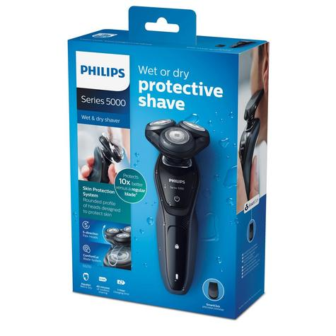 Philips S5270/06 Series 5000 Waterproof Men's Electric Shaver | Precision Trimmer Thumbnail 6