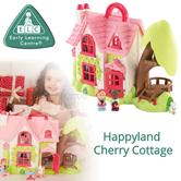 Early Learning Centre Happyland Cherry Cottage | Kid's Imaginative Playset/House | +18 Months