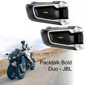 Cardo Scala Rider Packtalk Bold Duo JBL Motorcycle Helmet Bluetooth Intercom | DMC