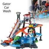 Hot Wheels City Ultimate Gator Car Wash Kit | Kid's Connectable Toy Play Set | 5y+
