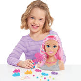 Barbie Dreamtopia Rainbow Styling Head Doll | Styling Accessories | Creative | 3 Year+