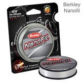 Berkley Nanofil Uni-Filament Fishing/ Spinning Line | Clear Mist | 125m | 27lb to 44lb