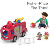 Fisher-Price Little People Fire Truck Kids Play | Songs/Phrases & Lights | 1 Year+