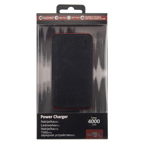 Urbanz 4000mAh Power Charger | Mobile-Smart Phones-Tablets-E-Readers-GPS | Black | NEW Thumbnail 4