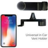Universal Car Vent Smartphone Holder | 360° Mobile Mount | For iPhone X-XS-XS Max-XR