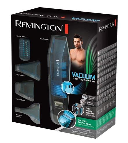 Remington PG6070 Vacuum Advanced 5-in-1 Grooming Kit | Body-Hair-Nose-Ear Trimmer Thumbnail 7