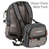 Greys Chest/ Back Pack?Fishing Tackle Luggage Bag | Waterproof | 1436374 | For Anglers