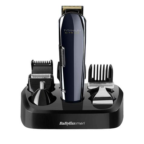 BaByliss 7427U Titanium Nitride Men's Face & Body Cordless Multi Groomer Kit | NEW Thumbnail 2