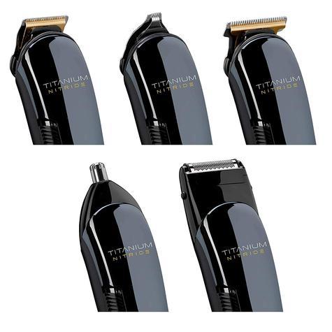 BaByliss 7427U Titanium Nitride Men's Face & Body Cordless Multi Groomer Kit | NEW Thumbnail 4