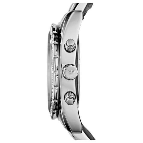 Emporio Armani Sportivo Series Couple Watch | Mother of Pearl Dial | Stainless Strap Thumbnail 2