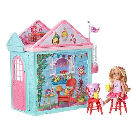 Barbie Chelsea Portable Clubhouse | Kid's Kitchen Playset | Colourful Building | 3y+ Thumbnail 5