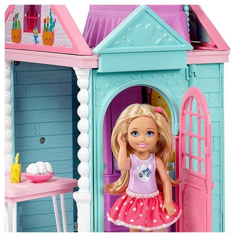 Barbie Chelsea Portable Clubhouse | Kid's Kitchen Playset | Colourful Building | 3y+ Thumbnail 7