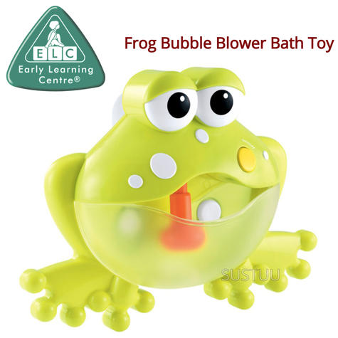 Early Learning Centre Frog Bubble Blower | Baby/Kid's Bathtime/Funtime Toy | +12 Months Thumbnail 1