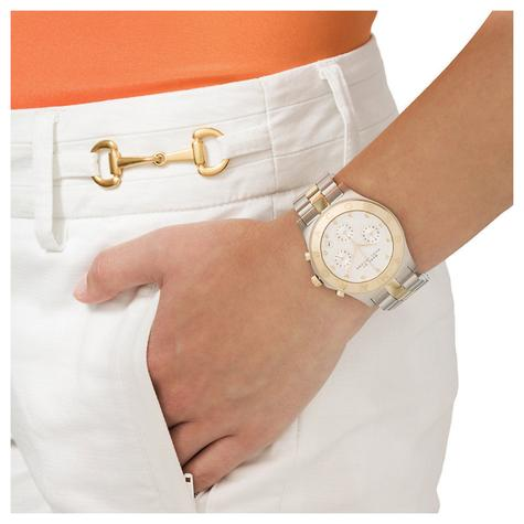 Marc Jacobs Blade Ladies Watch | Chronograph Dial Stone Marker | Stainless Strap | MBM3177 Thumbnail 4