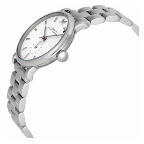 Marc Jacob Baker Ladies Watch | White Round Sub Dial | Stainless Steel Strap | MBM3242 Thumbnail 2