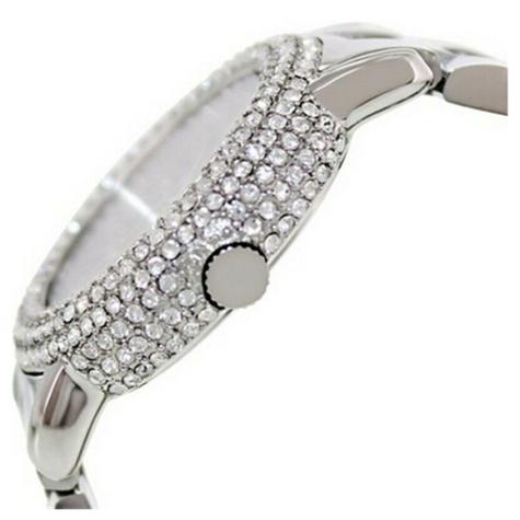 Marc Jacobs Marci Ladies Watch | Crystal Bezel Silver Dial | Stainless Strap | MBM3190 Thumbnail 2