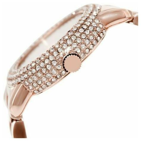 Marc Jacobs Marci Ladies Watch | Crystal Bezel Rose Gold Dial | Stainless | MBM3192  Thumbnail 2
