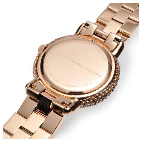 Marc Jacobs Marci Ladies Watch | Crystal Bezel Rose Gold Dial | Stainless | MBM3192  Thumbnail 3