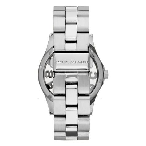 Marc Jacobs Henry Skeleton Ladies Watch | Silver Plated | Stainless Strap | MBM3262 Thumbnail 2