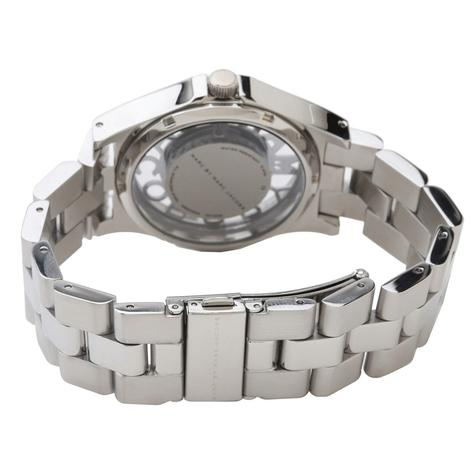 Marc Jacobs Henry Skeleton Ladies Watch | Silver Plated | Stainless Strap | MBM3262 Thumbnail 3