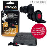 Pinlock Motorcycle Hearing Protectors Ear Plugs | Silicone Free | Reusable | For Biker | Two Pairs