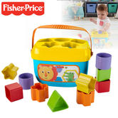 Fisher-Price Baby's First Blocks | Learn Shapes & Colors | With Shape Sorter Bucket | +6m
