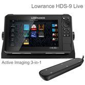 Lowrance HDS-9 Live ROW XD Chartplotter/ Fishfinder & Acitve Imaging 3-in-1 Txd | For Marine