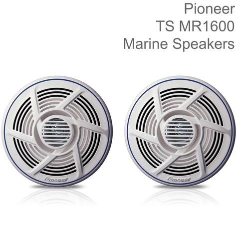 Pioneer 16cm Dual Cone Marine Audio Speakers | Water-resistant | 100W Maximum Power Thumbnail 1