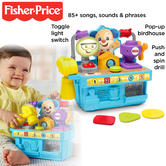 Fisher-Price Laugh and Learn Smart Stages Tool Bench | With Songs & Phrases + Lights | +6 Months