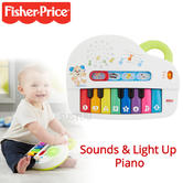 Fisher-Price Laugh and Learn Silly Sounds Light Up Piano | With Lights & Sound  | +6 Months