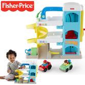 Fisher-Price Little People Wheelies Garage Playset | Kid's Activity Toy | +12 Months