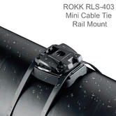 Scanstrut ROKK RLS-403 Cable Tie Rail Mount | For Over-Size Mount Base | Use Boats