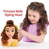 Disney Princess Belle Hair Styling Head | Imaginative & Creative Playset | +3 Years | NEW