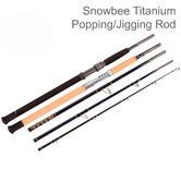 Snowbee Unisex 5 Piece Popping/Jigging Boat Rod | 10010 | Deep Blue | 8.6Ft/ 100-155 g